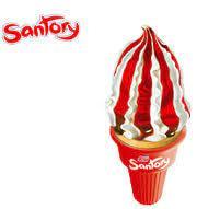 Helado Santory Fresa