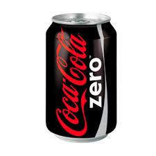 Lata Coca Cola cero