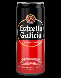 Lata Estrella Galicia 0,33